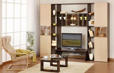 Мебельные горки для гостиной