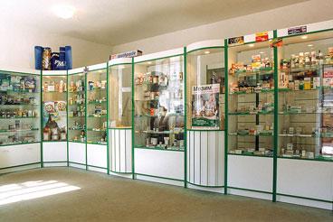 стеклянные витрины для торговли