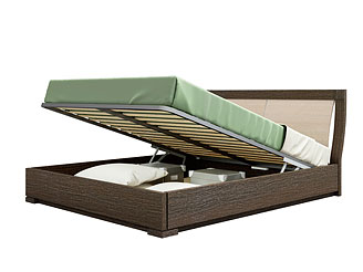 Кровать с подъёмным механизмом (160×200 см) As28.251