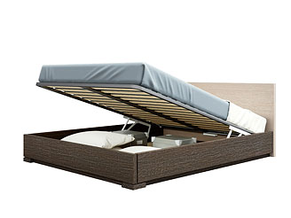 Кровать с подъёмным механизмом (160×200 см) As28.271