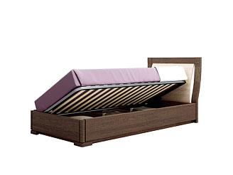 Кровать с подъёмным механизмом (90×200 см) As28.555M