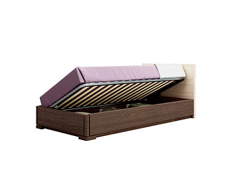 Кровать с подъёмным механизмом (90×200 см) As28.575M