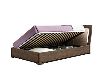 Кровать с подъёмным механизмом (120×200 см) As28.655M