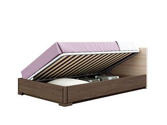 Кровать с подъёмным механизмом (120×200 см) As28.675M