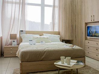 Двуспальная кровать (160×200 см) As28.74M-ks