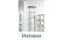 Стеклянная витрина для торговли