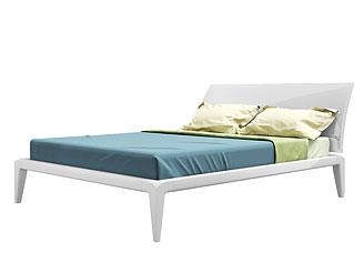 Двуспальная кровать (140×200 см) As74.14