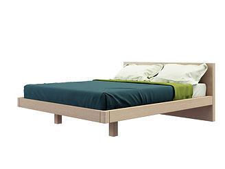 Двуспальная кровать (140×200 см) As75.24