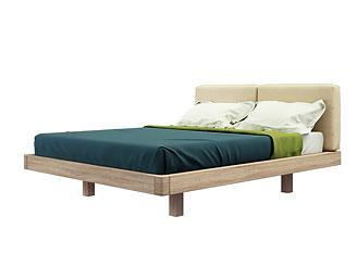 Двуспальная кровать (160×200 см) As75.36