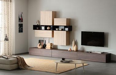 Мебель для гостиной хайтек