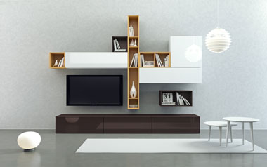 Мебель в гостиную хай тек
