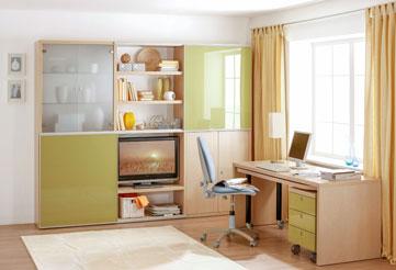 Мебельные стенки в гостиную и молодежную комнату
