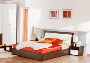 кровать с подъемным механизмом ящиком