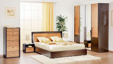 Мебель для спальни венге
