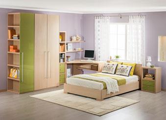 Модульная мебель для спальной и молодёжной комнаты