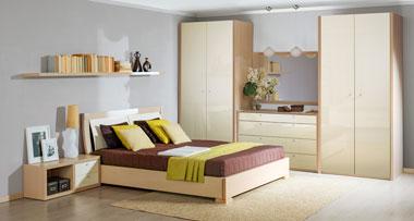 Современный спальный гарнитур в стиле модерн