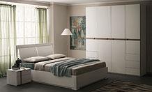 Белый гарнитур для спальни