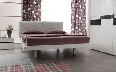 Кровать в стиле хайтек