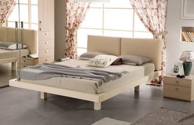 Кровать в креме