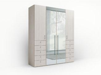 Модульный распашной шкаф