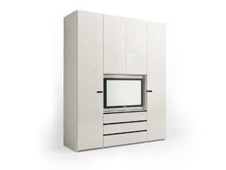 Шкаф + телевизор