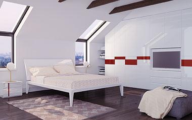 Спальный гарнитур для мансарды