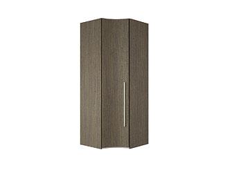 Угловой одностворчатый шкаф