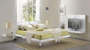 Гарнитур для спальни в стиле хайтек