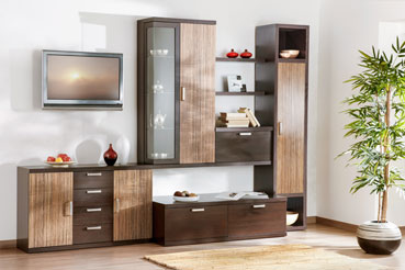 Мебель для гостиной горки