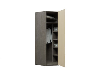 Угловой шкаф с ламинированными фасадами KGP20A