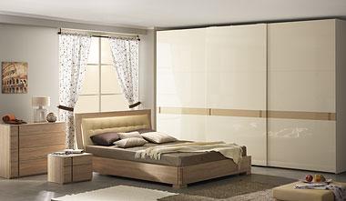 Современная спальня дуб сонома