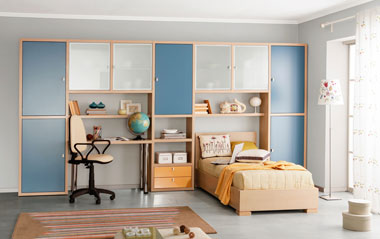 Стильная мебель для молодежной комнаты