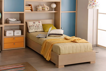 Кровати односпальные фото размеры