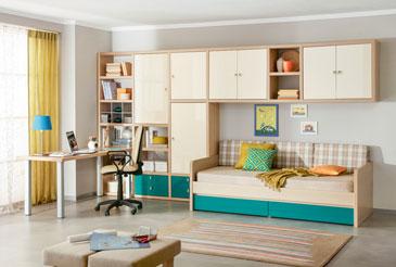 Мебель для молодежной комнаты Италия