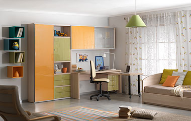 Молодежная спальня мебель