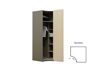 Радиусный угловой шкаф с ламинированными фасадами TGP05CH